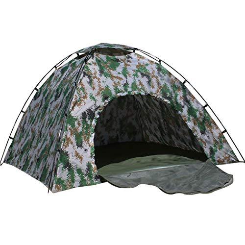 GJFeng Camouflage Katoenen Tent Vier Seizoenen Digitale Camouflage Tent Dikke Katoenen Camouflage Outdoor Camping Tent 3-4 Personen 200 * 200 * 145
