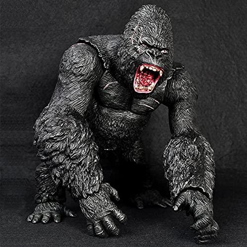 agzhu Kong Skull Island King Kong Figure The Apes Gorilla Big Size 15 pollici/45 cm Kings Gorilla Kong Monkey Figure Model Toys