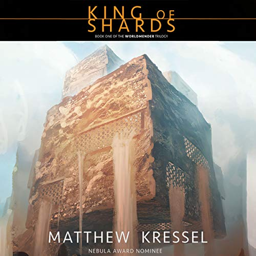 King of Shards audiobook cover art