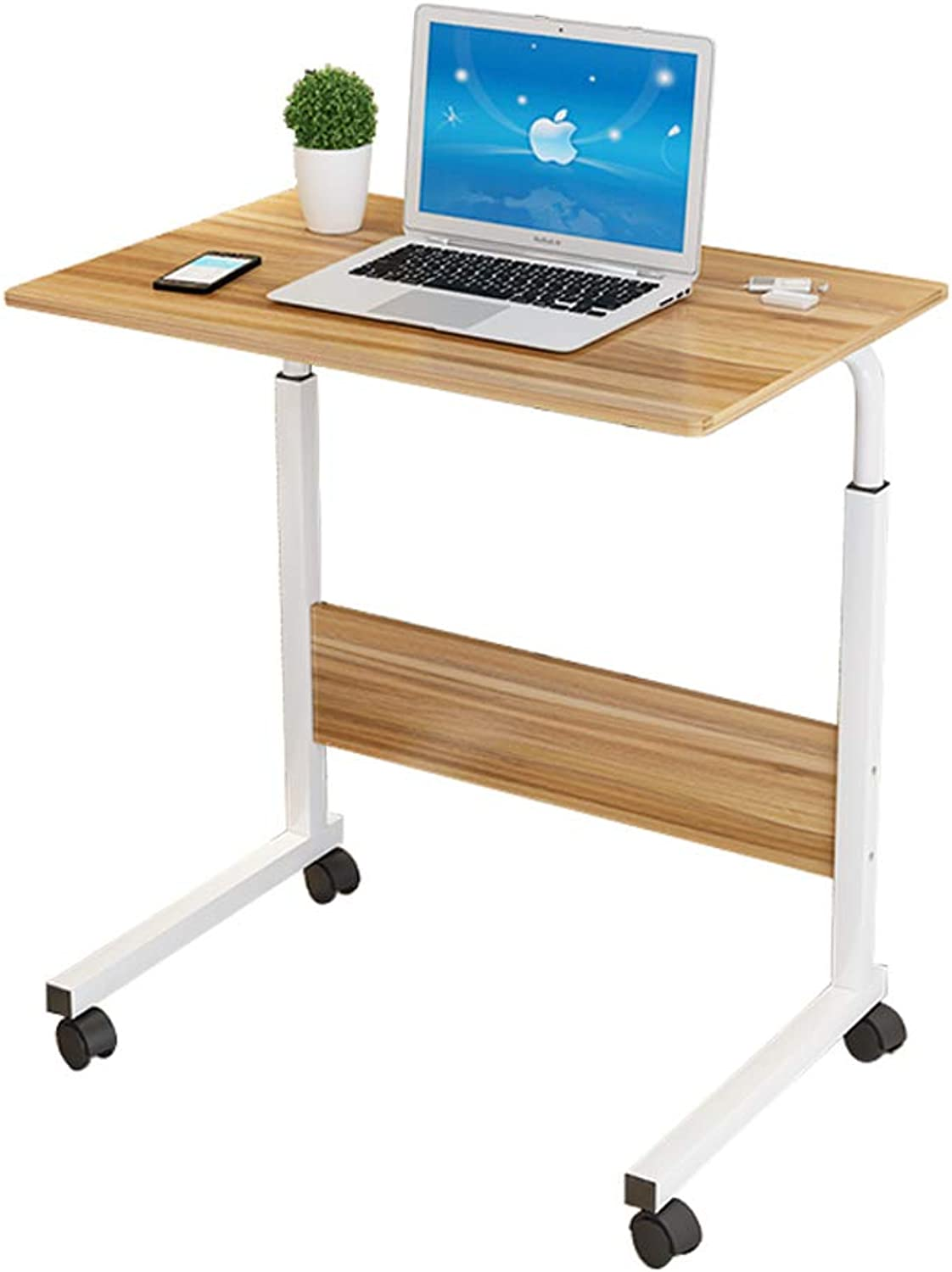 Computer Desk Bedside Table Desktop Home Simple Desk Removable and Lifting 60  40  70CM
