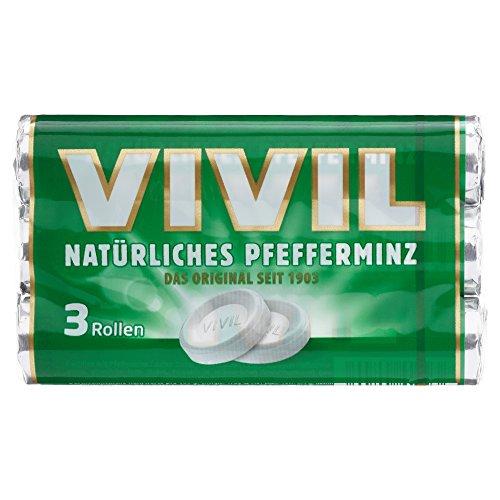 Vivil Pfefferminz 3 Rollen Multipack, 87g