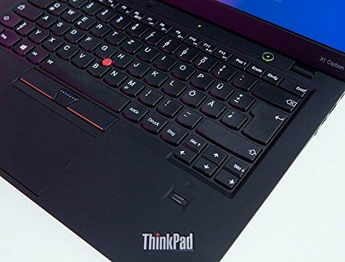 Lenovo ThinkPad X1 Carbon | Intel i5 | 1.8 GHz | 8 GB | 180 GB SSD | 14 Zoll | Webcam | 1600x900 HD | Windows 10 | 5S5 Mobiles Notebook (Generalüberholt)