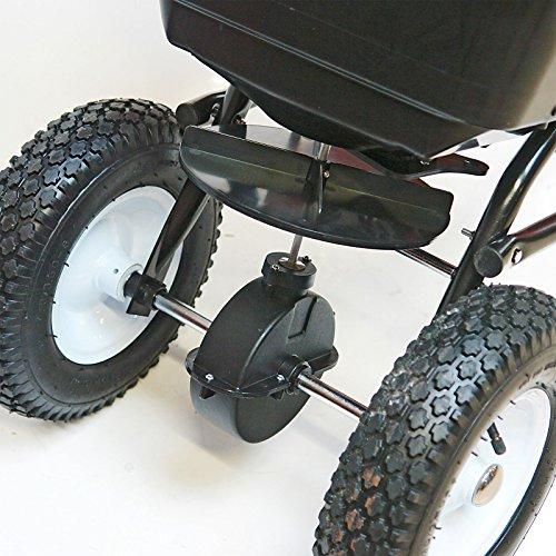 DEMA Streuwagen 45l / 36 kg mit Anhängerkupplung;;;;; - 3