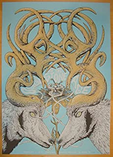 2014 Queens of the Stone Age - El Paso Poster by Neal Williams