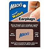 Macks Roll-ups Wallet Earplugs, 4-Count (Pack of 3)