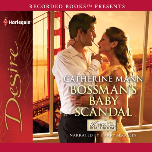 Bossman's Baby Scandal audiobook cover art