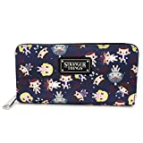 Loungefly x Stranger Things Eleven All-Over Print Zip-Around Wallet, Multi, one size