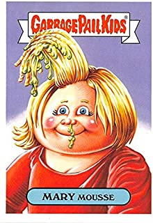 Mary Mousse trading card Garbage Pail Kids 90s 2019 Film #17b (Cameron Diaz Something About Mary spoof)