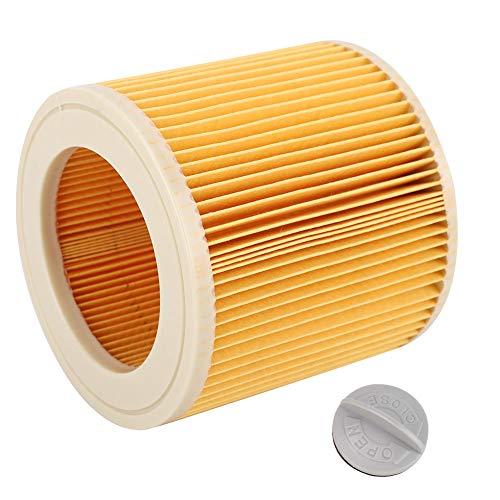 Filtro de aspiradora de filtro de aire de cartucho duradero para Kacher A2004 A2054