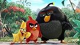 YUBYUB Puzzle 1000 Piezas Puzzle Rompecabezas para Adultos Kit de Bricolaje de Madera Decoración Moderna para el hogar Juguete Los Angry Red Birds/75 * 50 CM