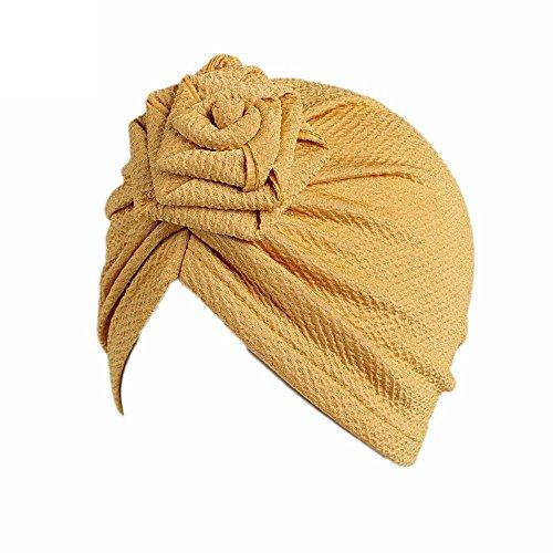 Zylione Baby Turban Hut Rosa Kappen der Kinder Tagesgeschenke der Kinder