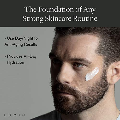 Men's Revitalizing Face Moisturizer Balm (2 oz.): Combat Dehydration, Sun Damage, and Post Shave Irritation | Anti-Aging Korean Made Grooming for the Modern Man | Achieve Your Best Look with Lumin