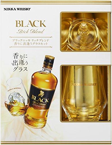 ブラックニッカリッチブレンド香りに出逢うグラスセット[ウイスキー日本700ml][ギフトBox入り]