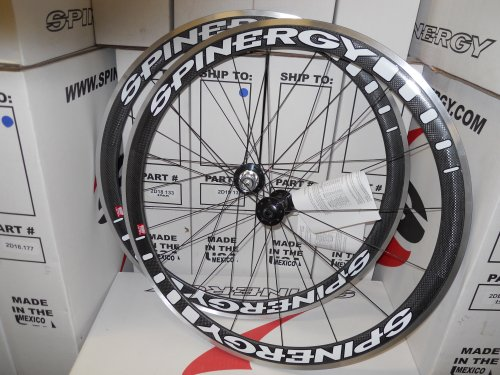 Spinergy Stealth SS Carbon Aero Wheel Set, Shimano