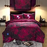 A Nice Night 3D Galaxy Blanket Comforter Bedding Sets Home Textile with Comforter Pillowcase, Full Size