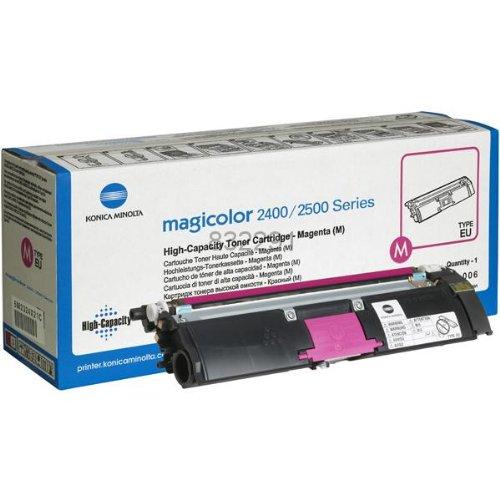 Konica Minolta A00W232 Toner Magenta (4500Seiten Magenta) für Laserdrucker