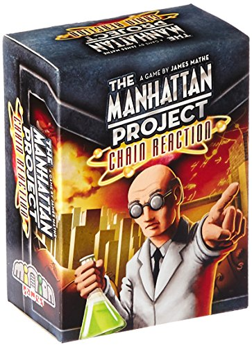 Minion Games MIGCR100 Brettspiel Manhattan Project: Chain Reaction
