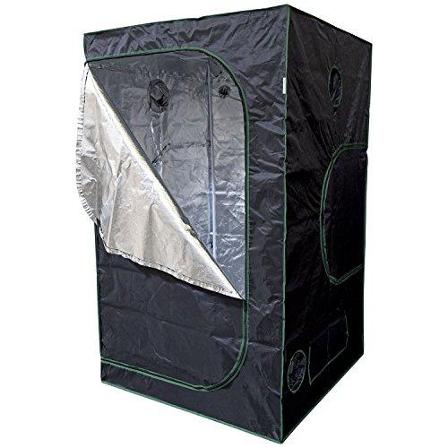 Urban Farmer 48x48x80 Reflective Mylar Hydroponic Grow Tent for Indoor...