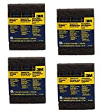 3M 10112 Heavy Duty Stripping Pads, 4 PACK