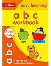 ABC Workbook Ages 3-5: Prepare for Preschool with Easy Home Learning