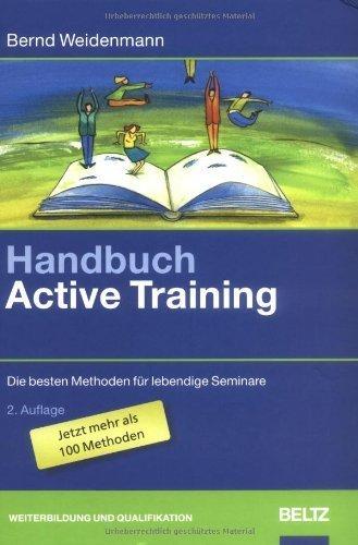 Handbuch Active Training by Bernd Weidenmann(1905-06-30)
