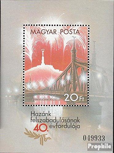 Prophila Collection Ungarn Block177A (kompl.Ausg.) 1985 40. Jahrestag der Befreiung (Briefmarken für Sammler)