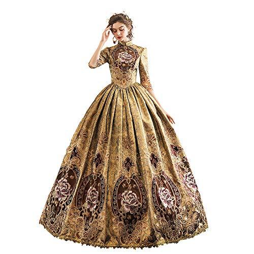KEMAO - Disfraz de rococó victoriana para mujer