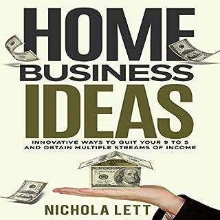 Home Business Ideas audiobook cover art