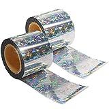 VisualScare 防鳥ホログラムテープ【2倍量でお得・防鳥テープで害鳥を寄せつけない・北米農業生産者から幅広い支持を受ける製品】粘着面無し・大きめの幅 5cm × 60m