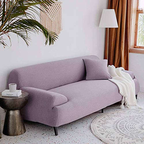 JHLD Stretch Sofa Cover, Jacquard Seersucker Couch Cover Washable Elastic Sofa Slipcover For 3Seat L Shape-K-chair 90-130CM(35.5-51in)