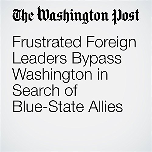 Frustrated Foreign Leaders Bypass Washington in Search of Blue-State Allies copertina