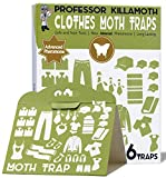 Best Moth Traps - Clothes Moth Traps 6 Pack | No insecticides Review