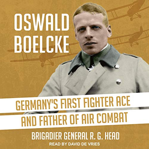 Oswald Boelcke cover art