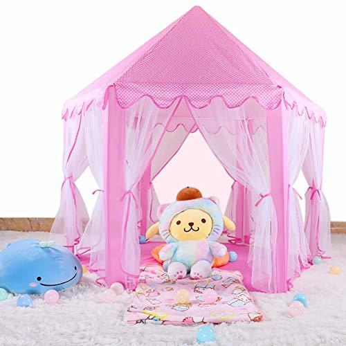 Tiendas infantiles Princesa niños Castillo de la tienda del juego, Parque de animales Juego surge la tienda casa del juego de la bola del hoyo Carpa plegable tienda de los indios de los muchachos much