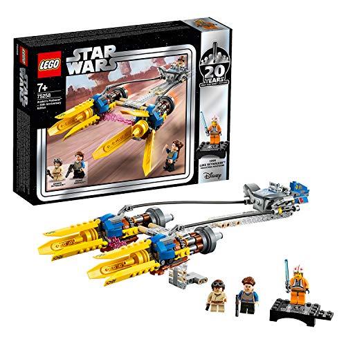 LEGOStarWars 75258 - Die dunkle Bedrohung Anakin's Podracer– 20Jahre LEGOStarWars, Bauset