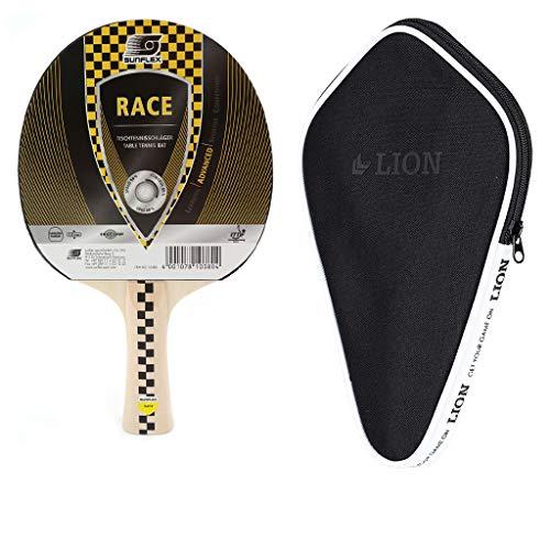 Sunflex Race Tischtennisschläger + Tischtennishülle  Tischtennisschlägerset   Tischtennis Set