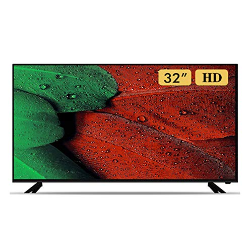 HAOLA HD Televisores Smart LED TV, 1080P Sala de Estar Dormitorio Televisión LCD Luz Anti-Azul Colgar en la Pared Smart TV