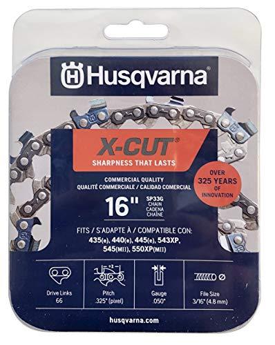 Husqvarna - Kettensägenketten in grau, Größe 16 inches