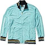 Champion Men's Terry Warm Up Jacket, Eucalyptus Green, Medium
