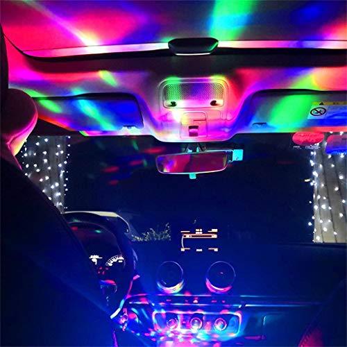 Lampada per Telefono Cellulare USB Magic Ball Light Luci Colorate