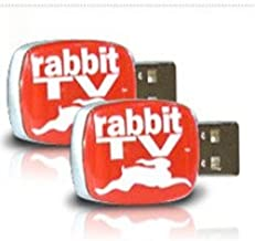 Rabbit 88715 TV USB Entertainment System (2 Pack)