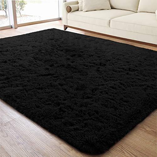 ACTCUT Super Soft Indoor Modern Shag Area Rugs Fluffy Beding Room Shaggy Carpets Dining Living Room Nursery Rug 4