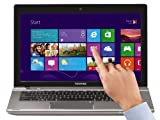 Toshiba Satellite P845t-10Z 35,8 cm (14,1 Zoll) Laptop (Intel Core i3 3227U, 1,9GHz, 4GB RAM, 500GB HDD, Intel HD 4000, DVD, Touchscreen, Win 8) silber
