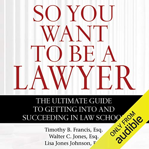 So You Want to Be a Lawyer cover art