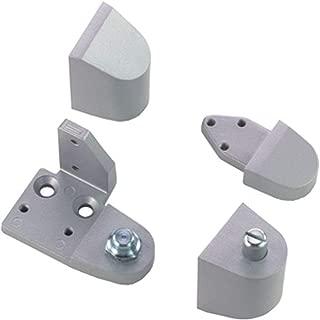 Armalite Style Storefront Door Pivot Top & Bottom Hinge Set, Aluminum, Choose Handing (Left Hand)