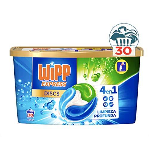 Wipp Express Wipp Discs 20 Ud (Tupper) Limpieza Profunda Limpiador Profundidad WC, Multicolor
