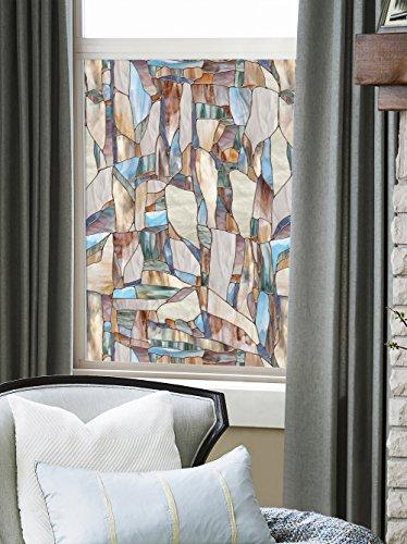 ARTSCAPE Sichtschutzfolie Mesa Fenster Film, braun, 61x 92cm