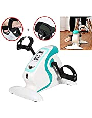Training Equipment Movement trainer for seniors arm and leg trainer 2In1 with motor rehab trainer exercise bike pedal trainer training display massage handles with gloves LULALAY