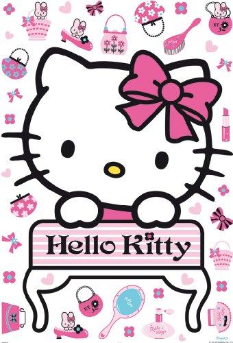 Decofun 41360 Hello Kitty - Maxi Sticker