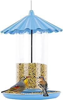 Sungmor Blue Baking Varnish Metal Bird Feeder for Outside | 11
